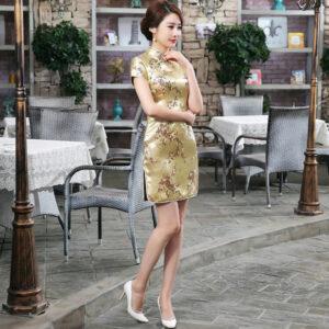 Robe Chinoise Doree