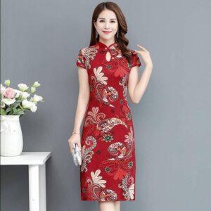 Robe Chinoise De Soirée